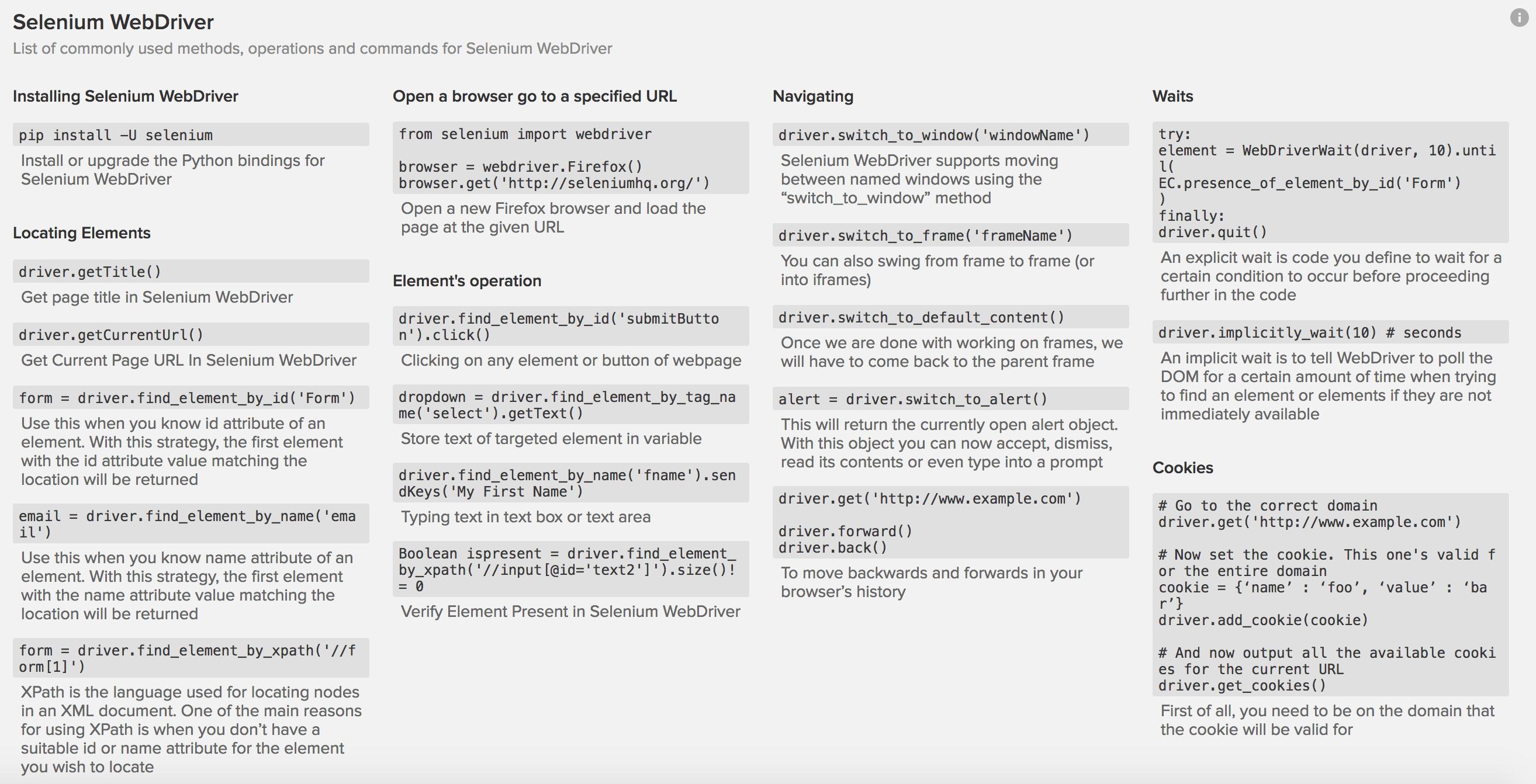Using Selenium with Python — Web UI Automation with Selenium